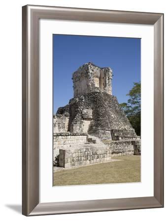 Dzibilnocac (Painted Vault) Temple-Richard Maschmeyer-Framed Photographic Print