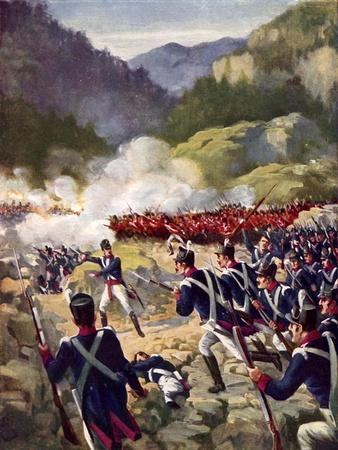 The Battle of Busaco, 1810