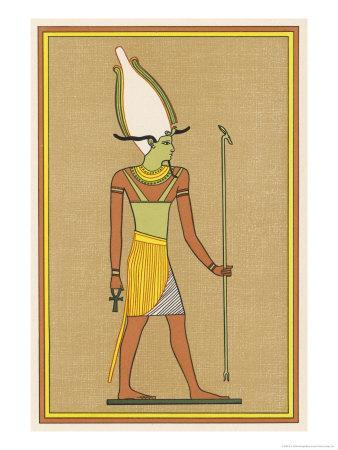 One of the Names Given to This God of the Underworld and of Vegetation is Osiris-Unnefer