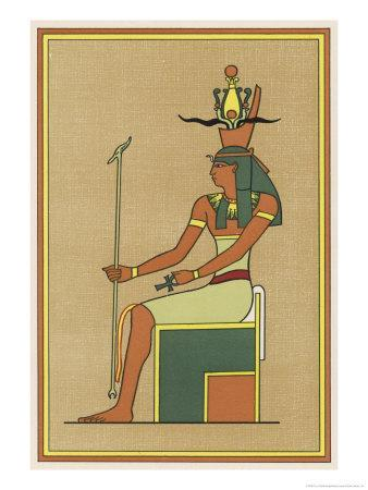 The Supreme Earth-God Whose Union with His Sister Nut Produced the Other Gods