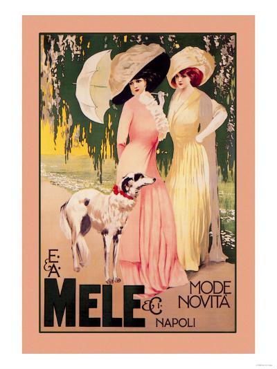 E. and A. Mele and Ci Mode Novita Napoli--Art Print
