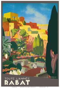 Rabat, Morocco - All Year Long by E^ Baudrillart