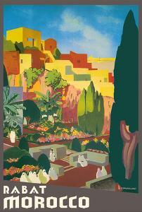 Rabat Morocco by E^ Baudrillart