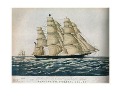 'Clipper Ship: Flying Cloud', 1852
