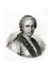 Maria Gaetana Agnesi by E. Conquy