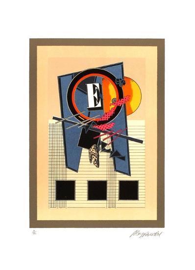 E Constant dans Lattente-Alain Le Yaouanc-Limited Edition