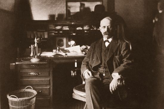 E.H. Harriman, 1901--Photographic Print