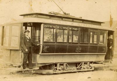 Tacoma Railway and Motor Company Street Car, North K Street Line (ca. 1899)