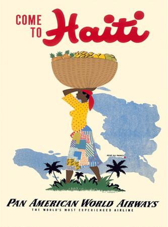 Come to Haiti - Pan American World Airways
