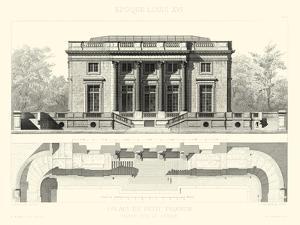 Palais Du Petit Trianon by E. Obermayer