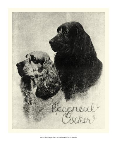 E'pagneul Cocker--Giclee Print
