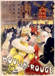 Moulin Rouge by E^ Paul Villefroy
