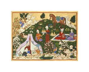 Persian Scene VII by E.S. Elmhurst