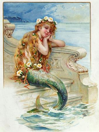 Little Mermaid, by Hans Christian Andersen (1805-75) by E^s^ Hardy