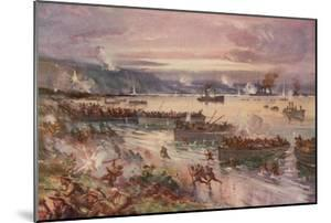 The Dardanelles Operations: the Landing of the Australians in Gallipoli, April 1915 by E. S. Hodgson