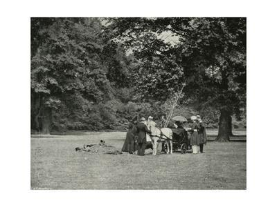 'Her Majesty Planting a Tree in the Grounds of Buckingham Palace as a Memorial of the Jubilee, June