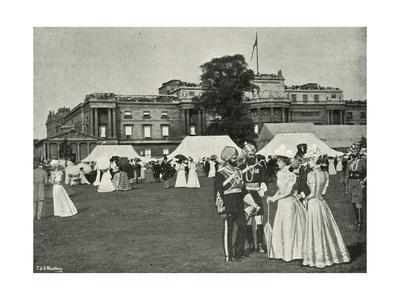 'Her Majesty's Garden Party: Indian Visitors', (c1897)
