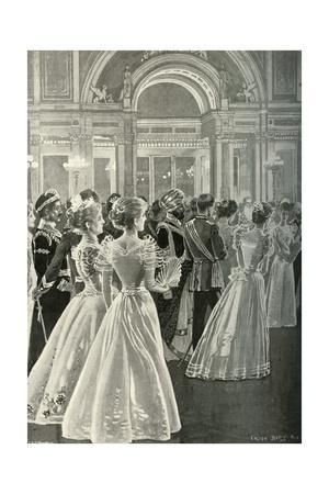 'The State Reception at Buckingham Palace: Entrance of the Prince and Princess of Wales', (c1897)