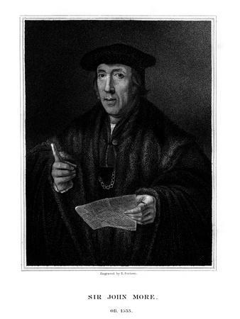 Sir John More, English Lawyer