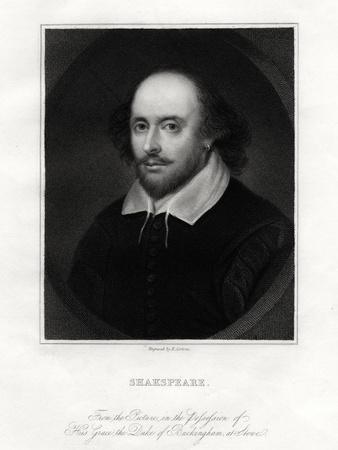 William Shakespeare, English Playwright, 19th Century
