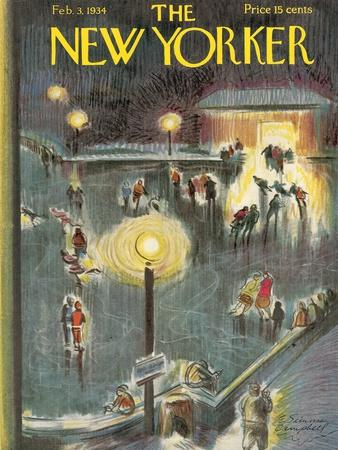 The New Yorker Cover - February 3, 1934
