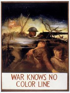 WWII: Color Line Poster by E. Simms Campbell