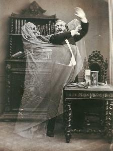 Spirit Photograph, 1863 by E. Thiebault