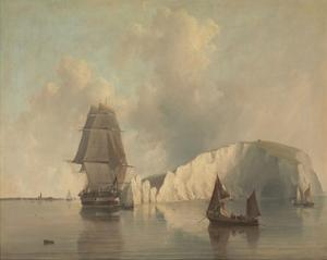Off the Needles, Isle of Wight by E.W. Cooke