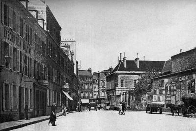 Street in Cherbourg, France, C1930S