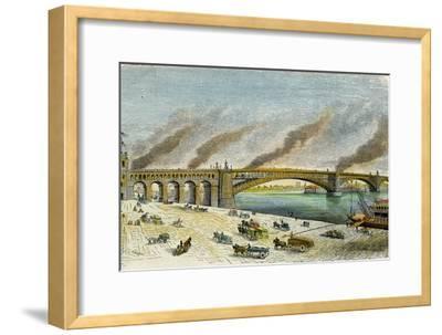 Eads Bridge, St Louis, Missouri, USA, C1874