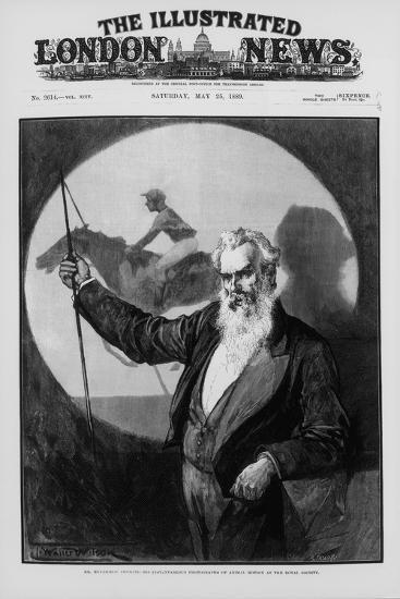 Eadweard James Muybridge, British-American Photography Pioneer, 1889--Giclee Print