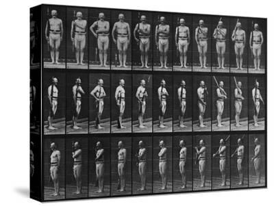 Album sur la décomposition du mouvement : Animal Locomotion : homme au fusil