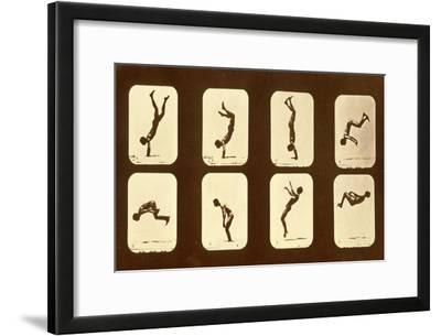 Athletes. Irregular from 'Animal Locomotion' Series, C.1881