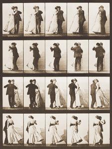 The Waltz by Eadweard Muybridge
