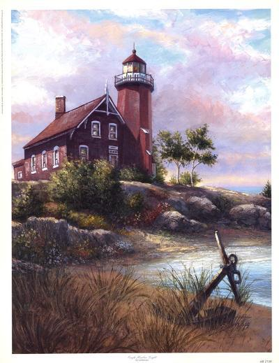 Eagle Harbor Light-Joe Sambataro-Art Print