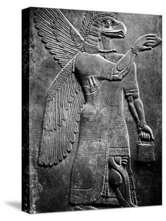 Eagle-Headed, Winged Assyrian God
