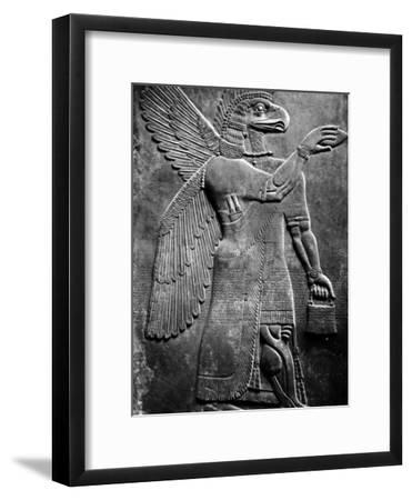 Eagle-Headed, Winged Assyrian God