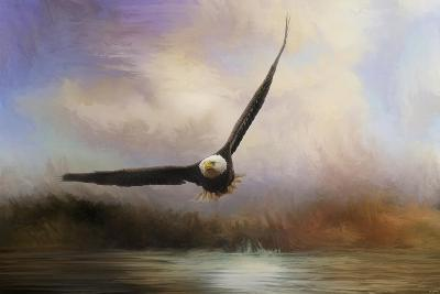 Eagle in the Marsh-Jai Johnson-Giclee Print
