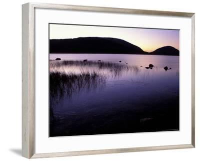 Eagle Lake, Cadillac and Pemetic Mountains, Maine, USA-Jerry & Marcy Monkman-Framed Photographic Print