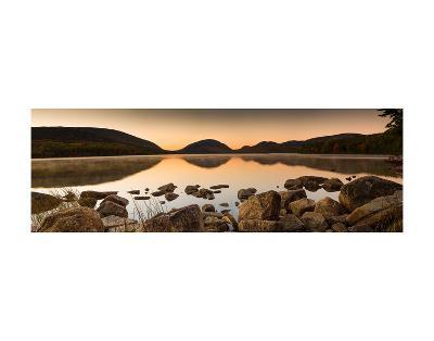 Eagle Lake Panorama-Michael Hudson-Art Print