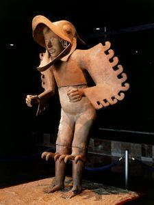 Eagle Man, Terracotta, from Recinto de los Caballeros Aguilas, Mexico