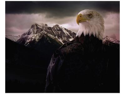 Eagle Mountain-Steve Hunziker-Art Print