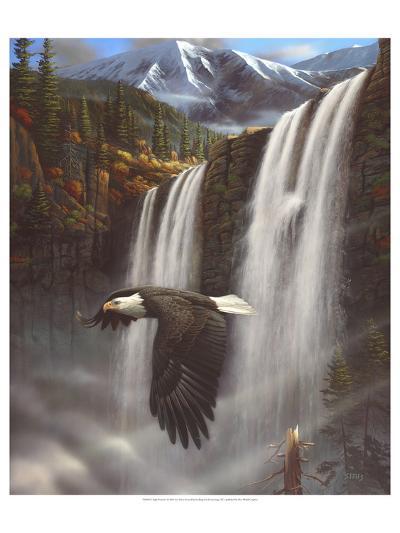Eagle Portrait-Leo Stans-Art Print