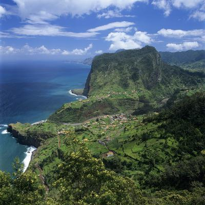 Eagle Rock (Penha De Aguia), Faial, Madeira, Portugal, Atlantic-Stuart Black-Photographic Print