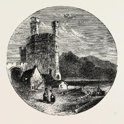 Eagle Tower Carnarvon Castle--Giclee Print