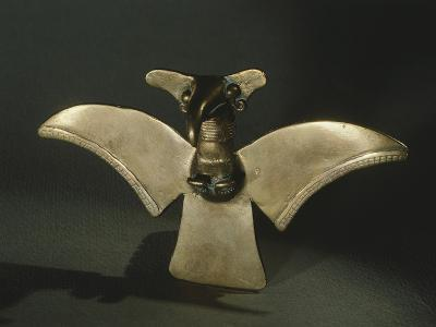 Eagle with Open Wings, Gold Artifact Originating from Veraguas--Giclee Print