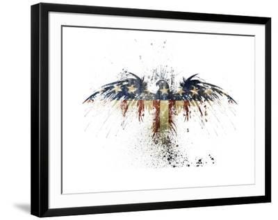 Eagles Become-Alex Cherry-Framed Giclee Print
