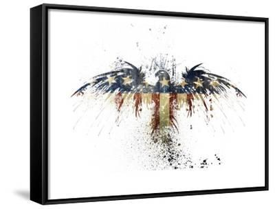 Eagles Become-Alex Cherry-Framed Canvas Print