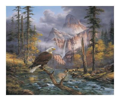 Eagles Perch-Rudi Reichardt-Art Print