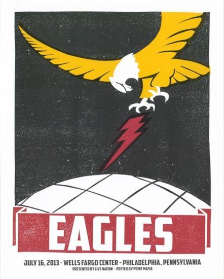 Eagles Philadelphia-Print Mafia-Serigraph